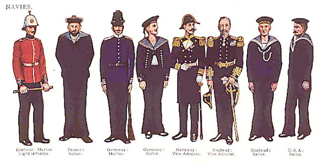 History Of The Navy Uniform 85