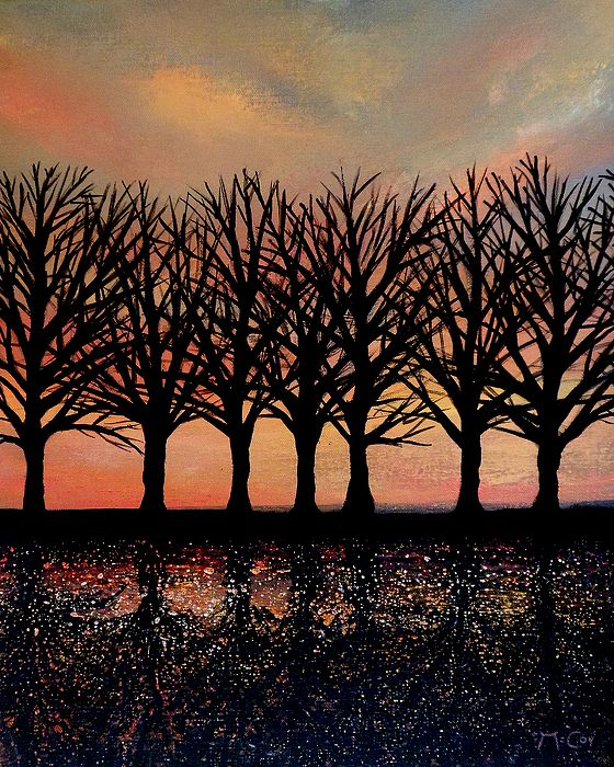 Evening Reflections - Art by Kirstin McCoy