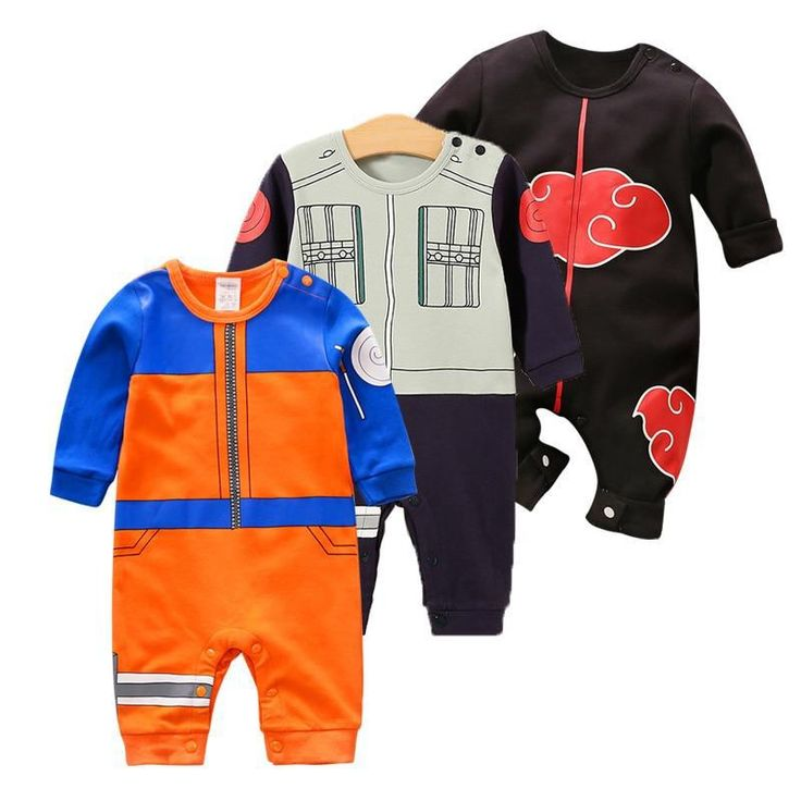 anime themed baby clothes