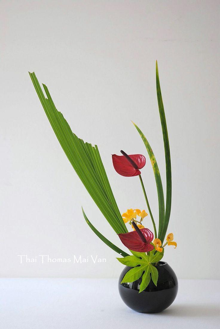 de tokyo mais floral arte tóquio composição floral south west ...