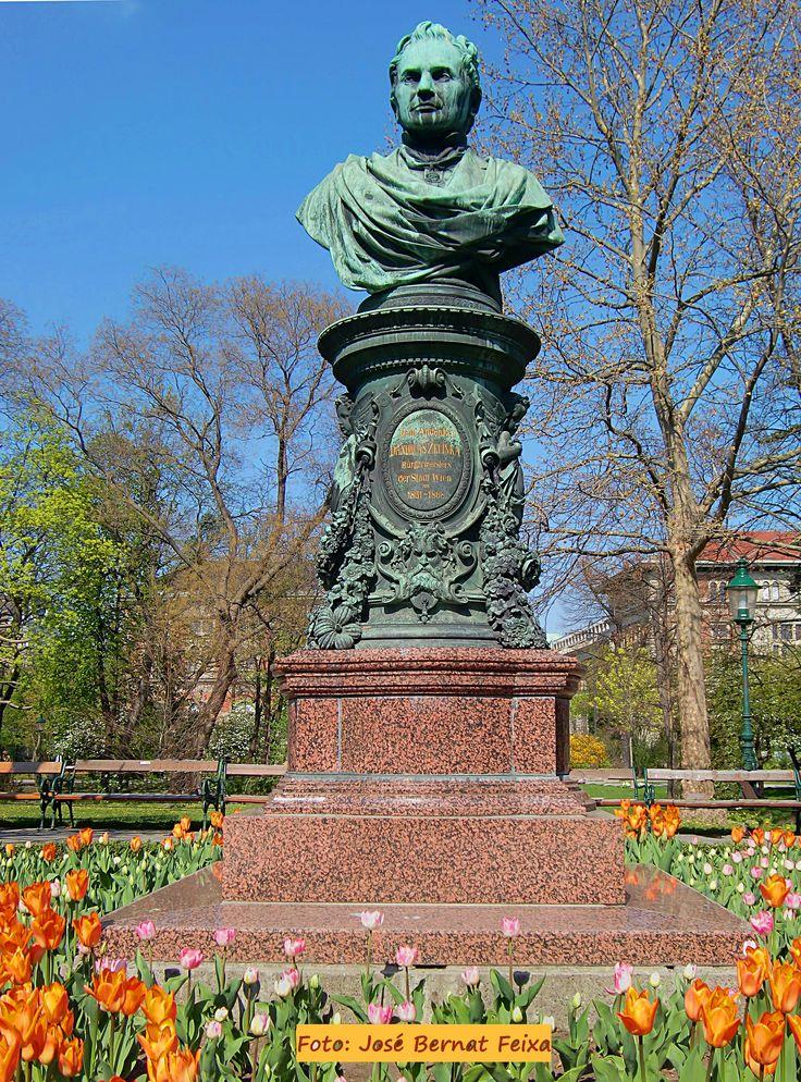 Monument aan Dr. A. Zelinka, Burgemeester van Wenen
