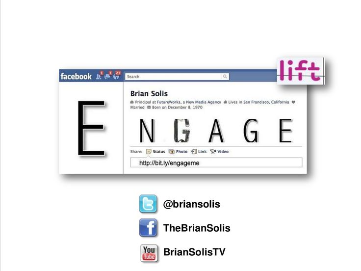 Digital Influence: Social Capital, Social Currency and Personal Branding by Brian Solis via slideshare