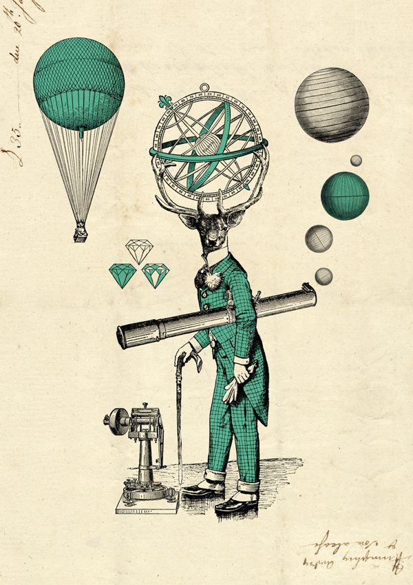 deer astronomer on Behance
