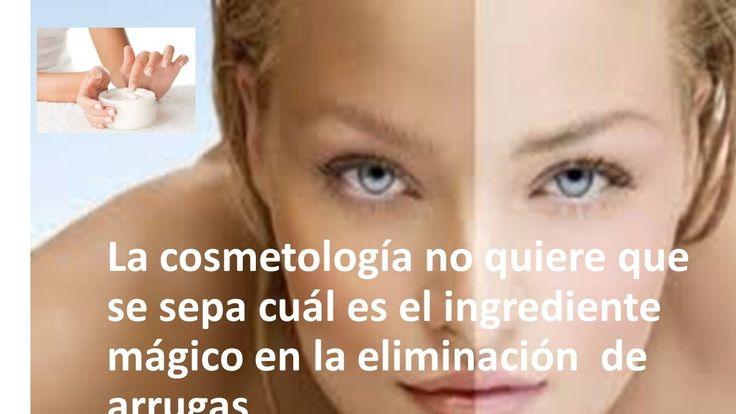 La cosmetología no quiere que se conozca cuál es el ingrediente mágico en la eliminación de arrugas
