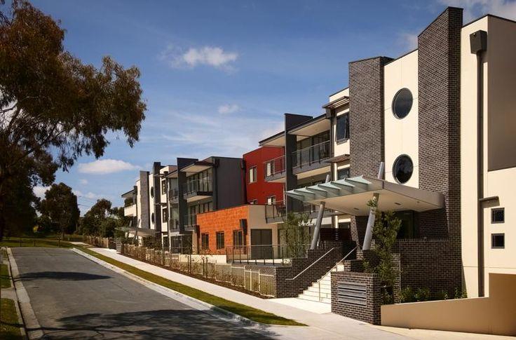 Exterior Apartments Design