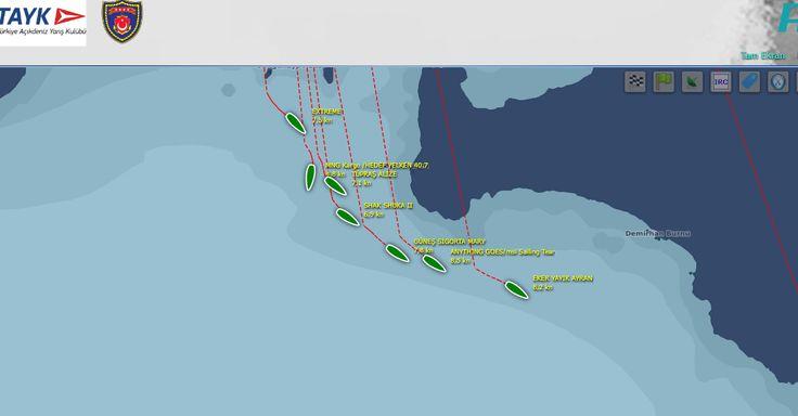Demirhan Burnu açıklarında IRC2 filosunda 4'üncü olarak seyreden, ekibimiz Güneş Sigorta Mary'nin Aşa Yarışı'nı tamamlamak için yaklaşık 30 mil yolu kaldı.