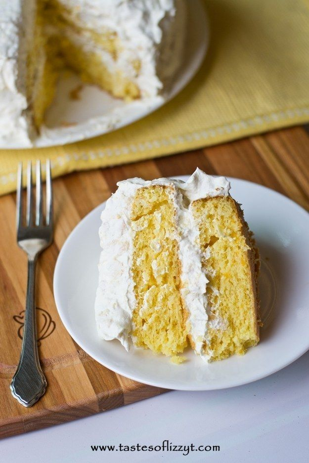 Pineapple Sunset Layer Cake | 17 Cakes To Bake When You Feel Lazy But Want Cake