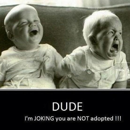 Dude: Twin, Laughing, Sisters, Funny Stuff, Baby Faces, Funny Baby, So Funny, Funnystuff, Kid