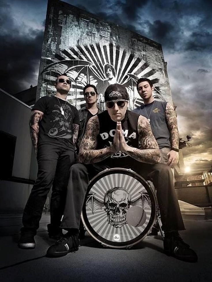 17 Best images about AVENGED SEVENFOLD