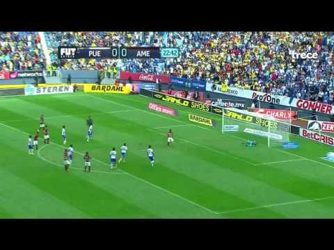 Puebla vs America - http://www.footballreplay.net/football/2016/08/22/puebla-vs-america-2/