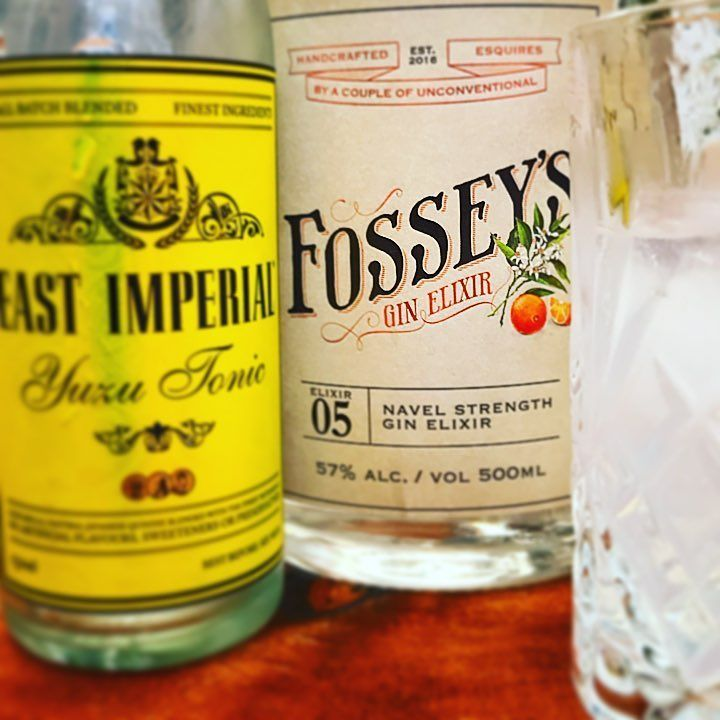 BOOM!! Super Citrus G&T Explosion. @fosseysgin Navel Strength and @eastimperial Yuzu Tonic. What a combo. Got the Navel Strength at @junipalooza a couple of weeks ago in Melbourne. #gintonic #ginzealand #junipalooza @theginqueen #ginandtonic #oranges #yuzu #auckland #newzealand @tonyburt #navystrength #gin #ginoclock #gintastic #ginstagram #ginspiration #ilovegin #ginisthenewipa