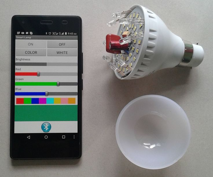 A smart bulb is an internet or Bluetooth-capable LED light bulb that allows lighting to be customized, scheduled and controlled remotely. Smart bulbs are among the most immediately successful offerings in the growing category of home automation and Internet of Things (IoT) products. In today's market many types of smart bulbs are available form price $10 to $100. But, can you think you can convert a low price led bulb to a smart bulb easily? Today I will show you how I converted a cheap…
