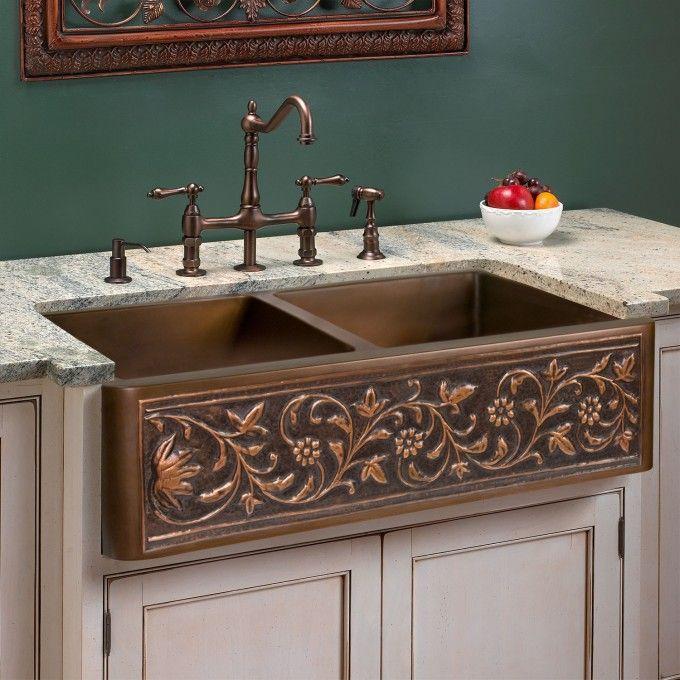 Wholesale Copper Kitchen Sinks