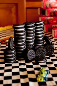 oreos for hot wheels birthday party - Google Search