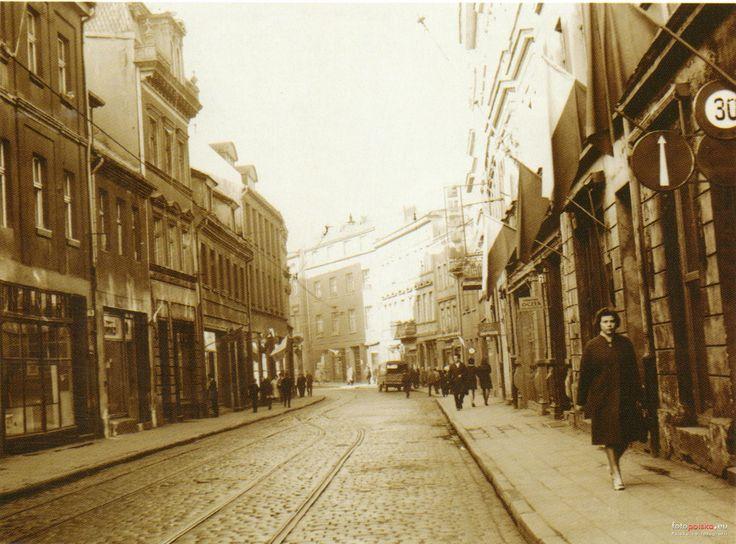 ul. Długa (Friedrich strasse), Bydgoszcz - 1965 rok, stare zdjęcia