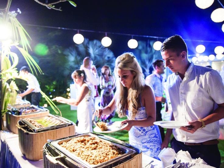Destination Wedding Buffet - Kori Catering