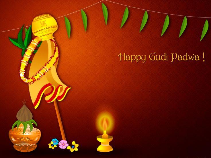 Gudi Padwa - Significance and Celebration Gudi Padwa (or Ugadi) marks the beginning of Lunar New Year. Read more: http://www.awesomecuisine.com/foodguide/23270/gudi-padwa-significance-celebration-dishes.html #GudiPadwa #Ugadi #SayNoToFoodPoisoning