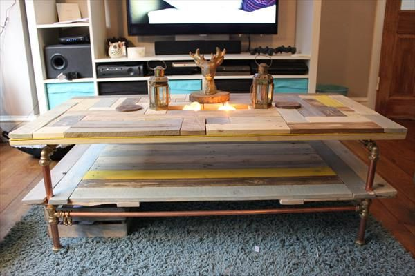 154 best Palets, Mesas images on Pinterest | Woodworking ...