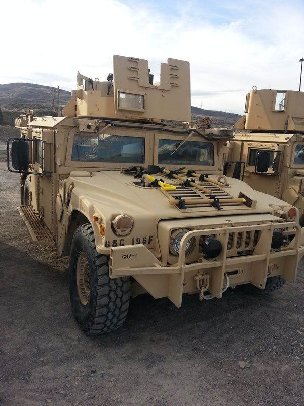 19th Special Forces Group Ground Mobility Vehicle - HMMWV In Scale