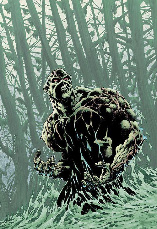 Swamp Thing, art by Berni Wrightson