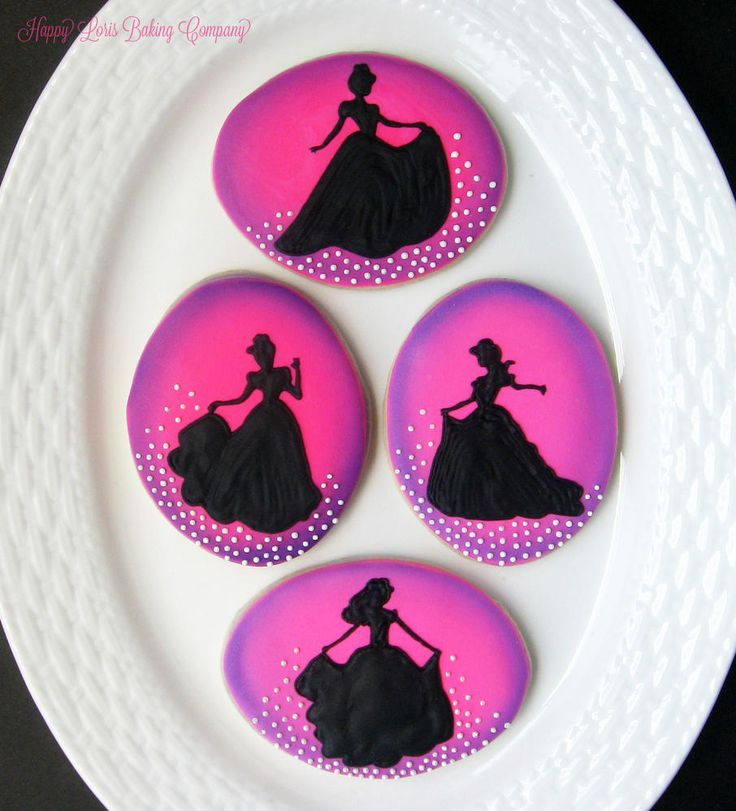 Princess Cookies - Happy Loris Baking Company