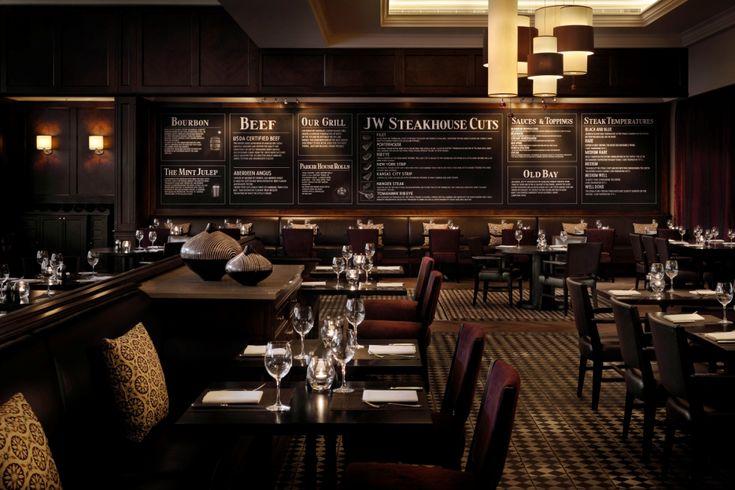 The JW Steakhouse, London Park Lane.
