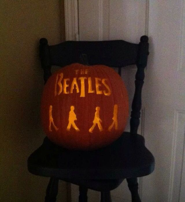 Pumpkin Carving Fun The Beatles My Own Collection