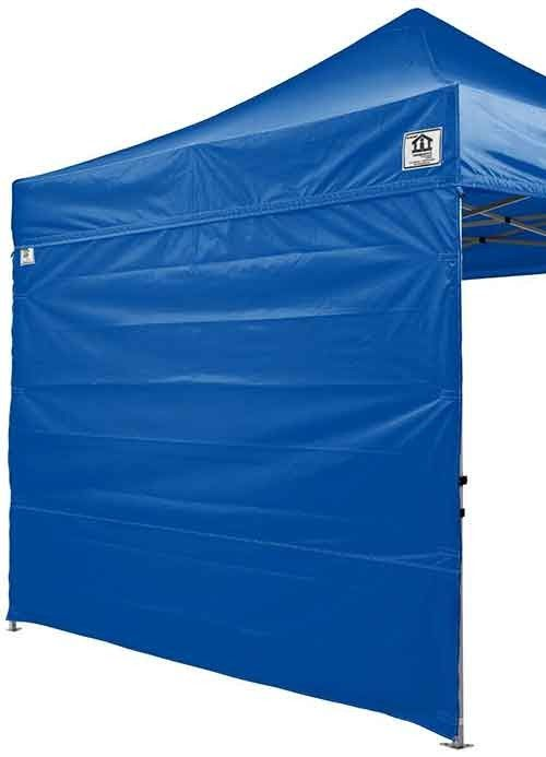 """10' x 10' Sidewall Kit for Pop-Up Canopy Tent; gives me an idea for adding tarp/screen """"walls"""" to the pop up canopy"""