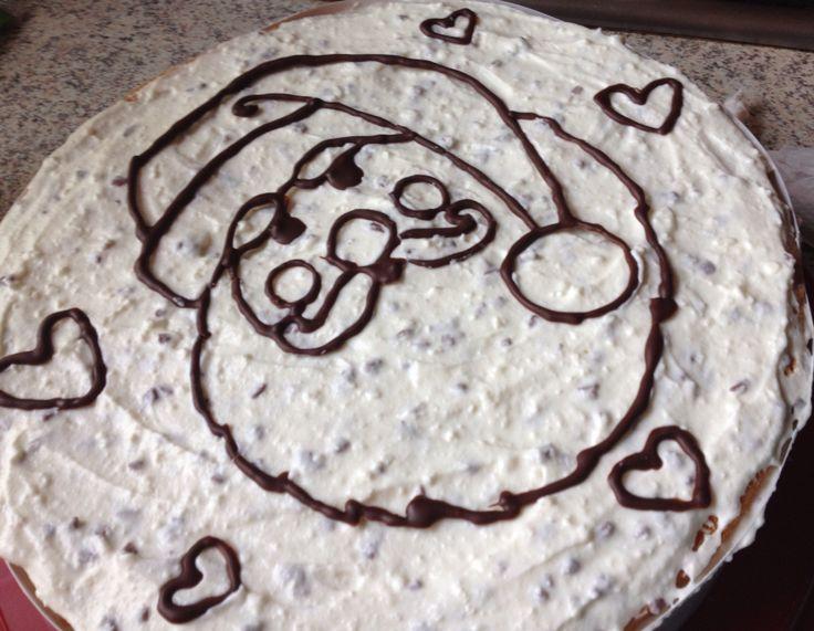 Santa Claus cake