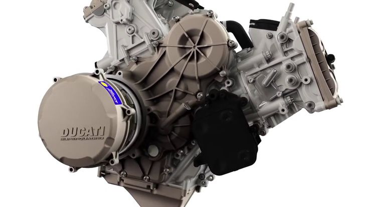 Ducati 1299 Superleggera Official Engine Animation