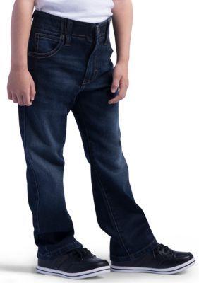 Lee Boys' Sport X-Treme Comfort Slim Jean Boys 4-7 - Porter - 7X Slim