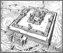 Third Temple, or Ezekiel's Temple (Hebrew: בית המקדש השלישי: Beit haMikdash haShlishi  lit. (The) House, the Holy, the Third), is a Holy Temple architecturally described and prophesied in the Book of Ezekiel, a house of prayer for all people with a sacrificial service. It is noted by Ezekiel as an eternal edifice and permanent dwelling place of the God of Israel on the Temple Mount in Jerusalem.