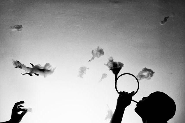 Paul Octavious Brings The Clouds Down To Earth In His Dream-like - Photographs: Paul Octavius, Dreams Lik Photographers, Puffin Cloud, Cloud Photography, Dreamy Art, Doce Paul, Cloud Art, Conceptual Photography, Photography Inspiration