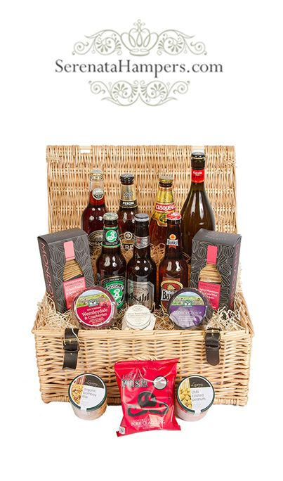The Ultimate Beer Hamper, £64.99, #beergifts #beerhamper #picnichamper