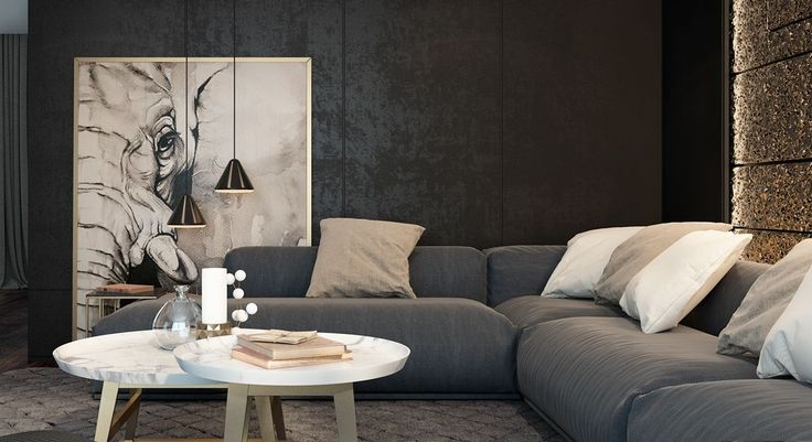 Black is famously versatile, eternally fashionable, and immediately makes any room feel more modern. It's a little easie