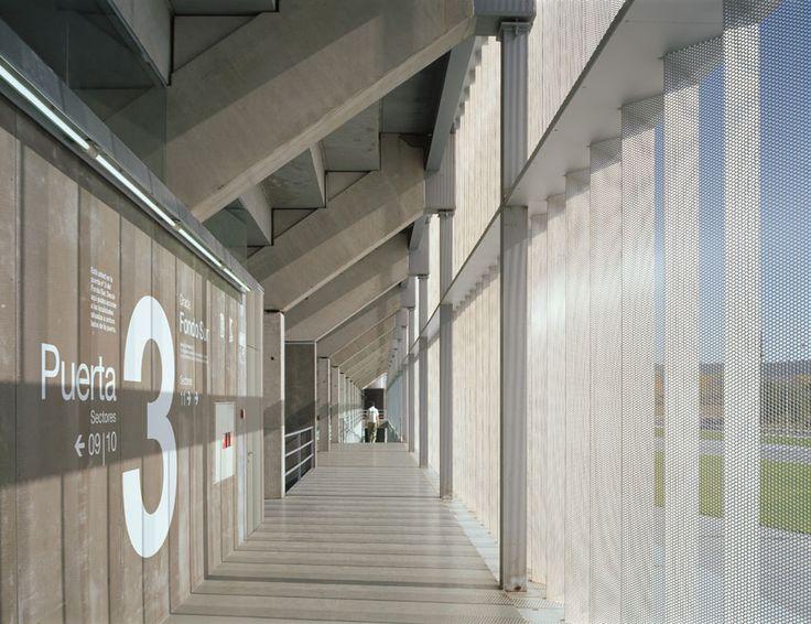 On Diseño - Proyectos: Estadio de fútbol de Palencia