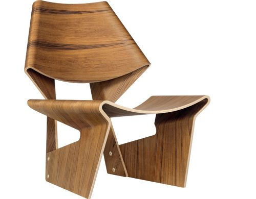Grete Jalk Gj Chair Design Grete Jalk, 1963 Laminated Plywood Made In  Denmark By Lange