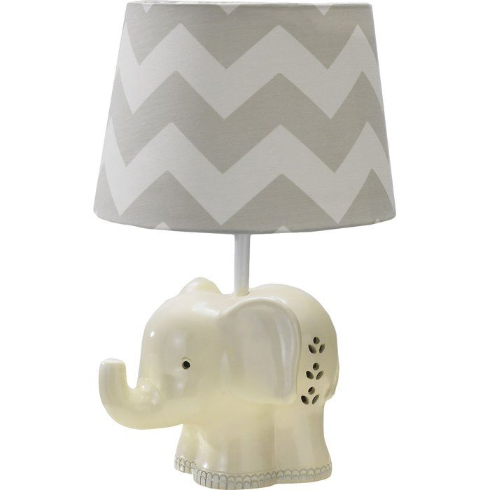 The Eye Catching Elephant Table Lamp Brings A Whimsical Touch To Your Decor Use It To Accent Your Little One Elephant Lamp Elephant Lamp Base Table Lamp Base