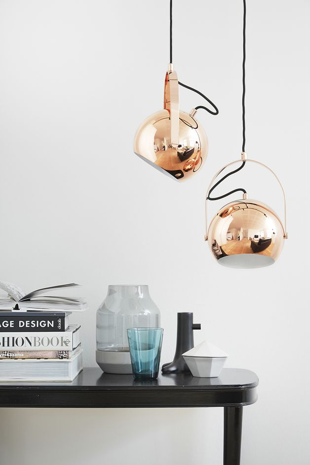 Hängelampen - Copper Lamp, Kupfer Leuchte, Vintage, Loft Lampe - ein Designerstück von spezialschoen bei DaWanda