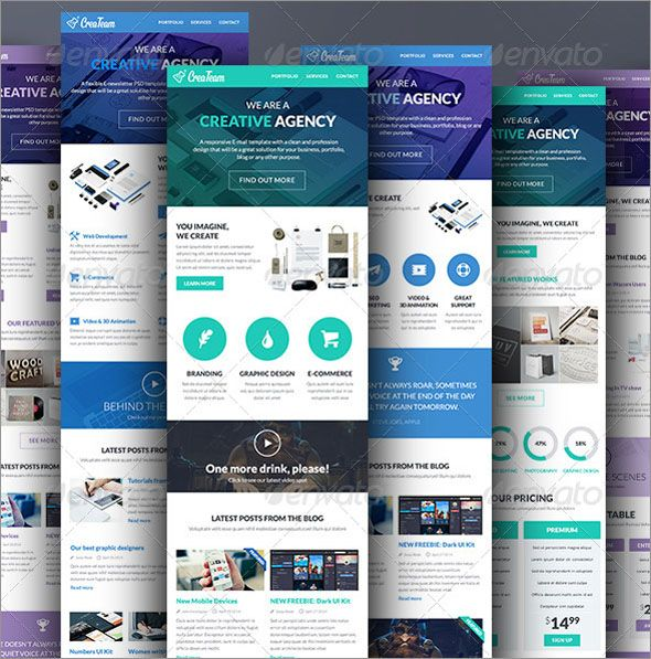 Free E Newsletter Templates Newsletter Templates Email