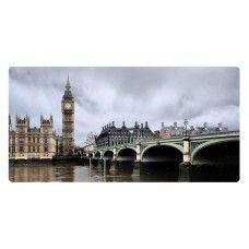 Londoni folyó és híd falikép