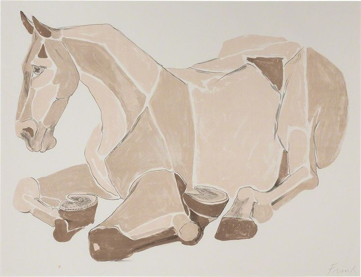 Elisabeth Frink, 'Resting Horse (W. 126)', 1981