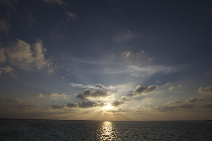 Sunrise from Water Villa