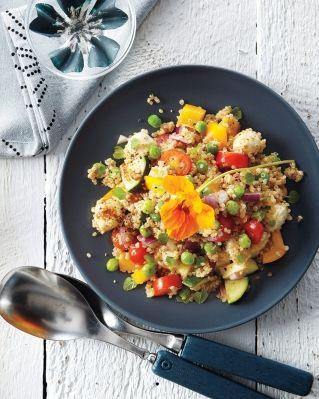 Salade de mini bocconcini à l'origan