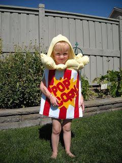 Costume Clever: Popcorn Costume!!!!!