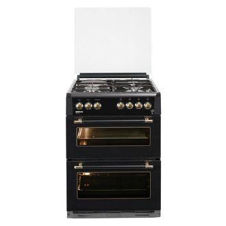 Cuisinière 3 feux gaz   1 électrique double four 44 35 litres CDF63110D > 390€ au lieu de 650€