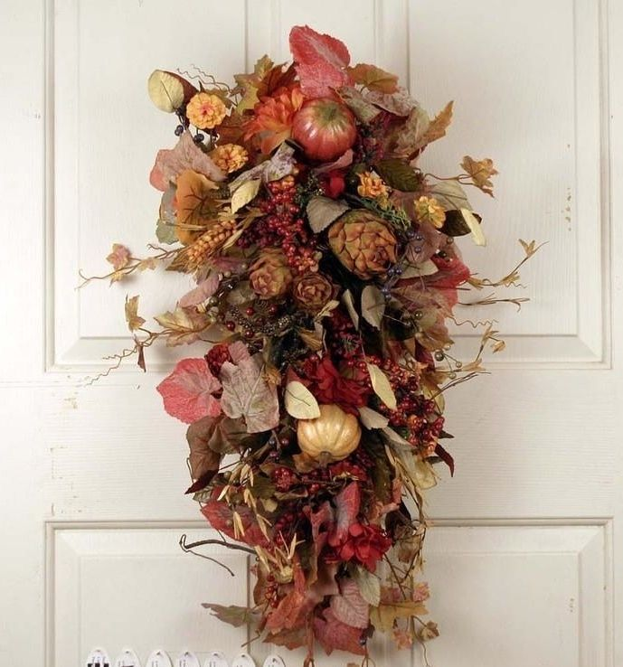 The Wreath Depot - Nantucket Autumn Harvest Swag 28 in, $79.99 (http://www.thewreathdepot.com/nantucket-autumn-harvest-swag-28-in/)