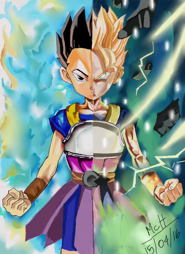 kabe dragon ball super by Thunderclapsart on Etsy