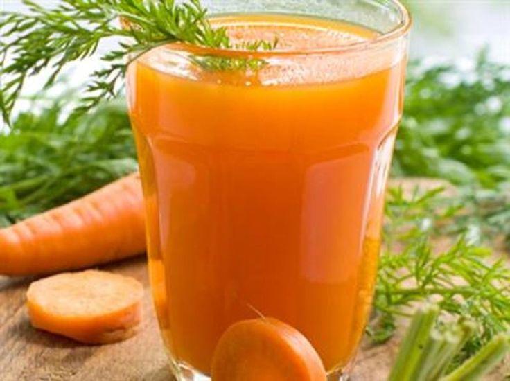 Succo di carote per un cuore sano