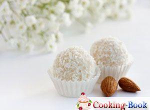 Рецепт: Кокосовые конфеты с орехами